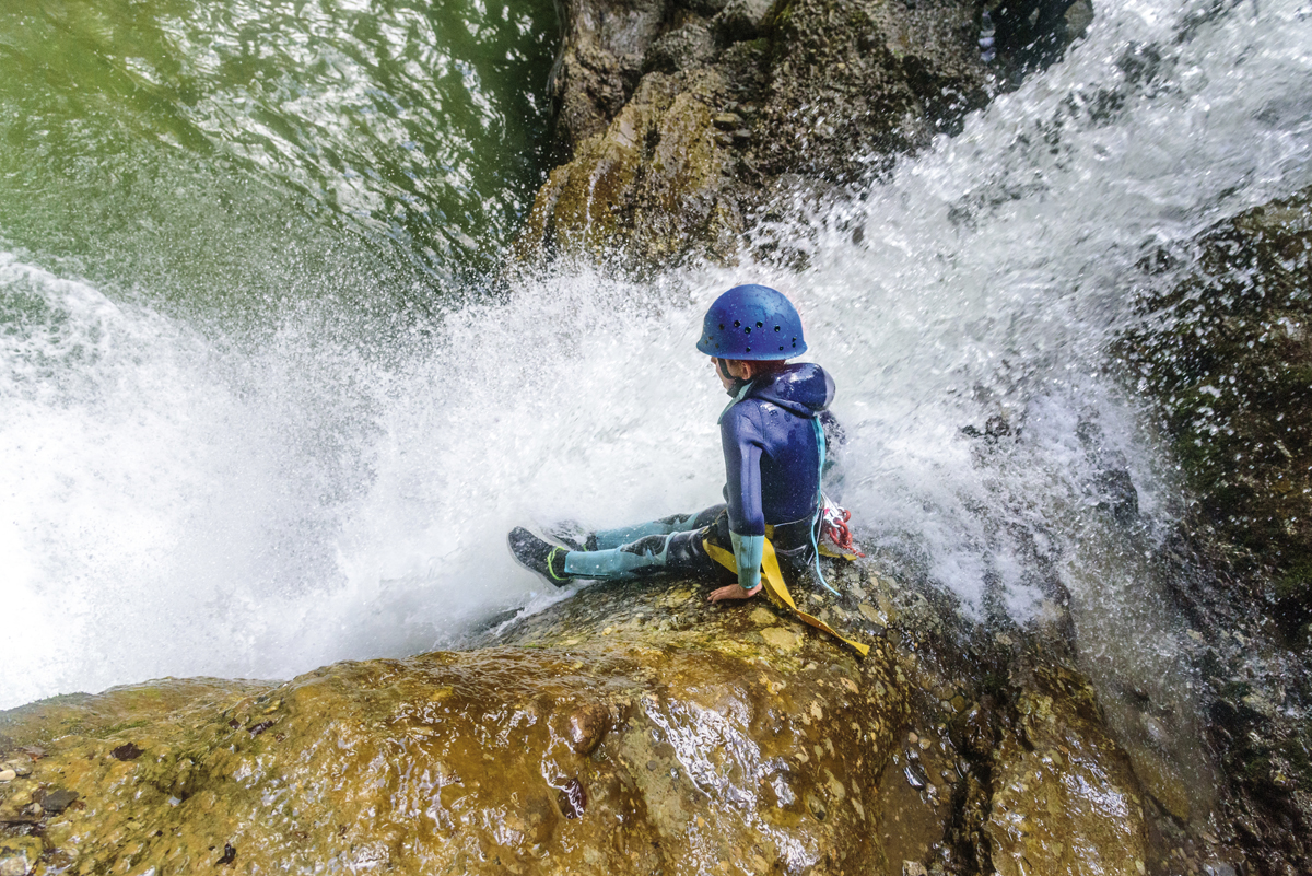 family canyoning kind