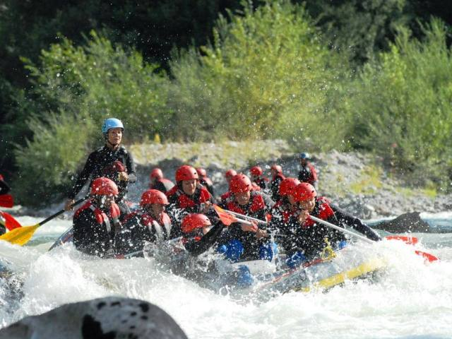 rafting bayern action